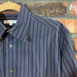 Ted Baker London Striped Button-down Shirt